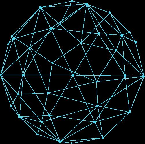 Versorgungsforschung Ball aus Datennetz